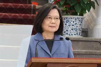 總統:疫情控制時 期待兩岸人民逐步恢復交流