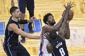 NBA》主場遭七六人慘電 魔術不敗之身破功