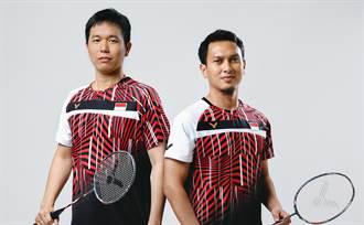 羽球》世界冠軍加盟 印尼男雙簽約VICTOR