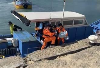 墾丁女遊客浮潛意外 漂流500米揮手求救 膠筏救援撿回1命