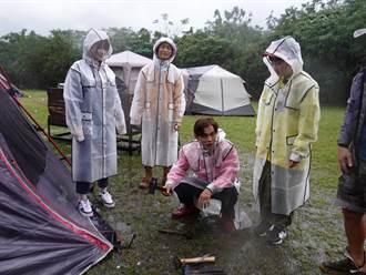 宜蘭露營慘遇豪雨 浩子又見「椎間盤突出」