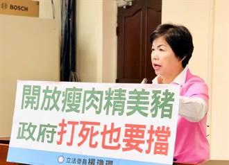 給吃萊豬再漲健保 楊瓊瓔轟:民進黨不只獨裁還吃人夠夠