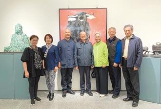 台北99度藝術中心展至1月24日 許文融創作展 秀東方氣韻
