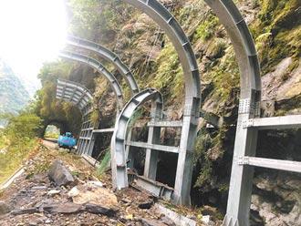 地震落石 中橫新長春橋封閉至3月31日
