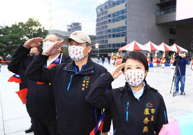 迎接2021年,台中市長盧秀燕向市民許下新年新希望,繼續朝「富市台中,新好生活」目標邁進,全力讓「台中蛻變、幸福倍增」。(盧金足攝)