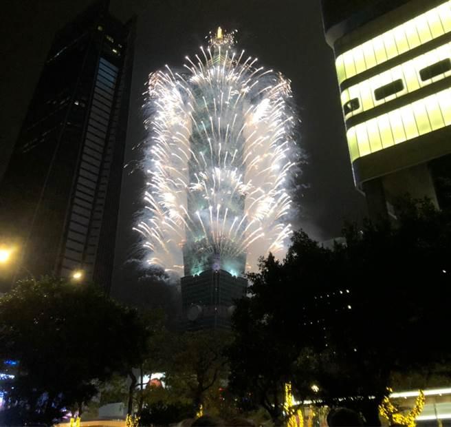 台北市3.8萬人嗨跨年,醫師推測跨年過後的「2種結局」,網超認同。(圖/何立雯攝影)
