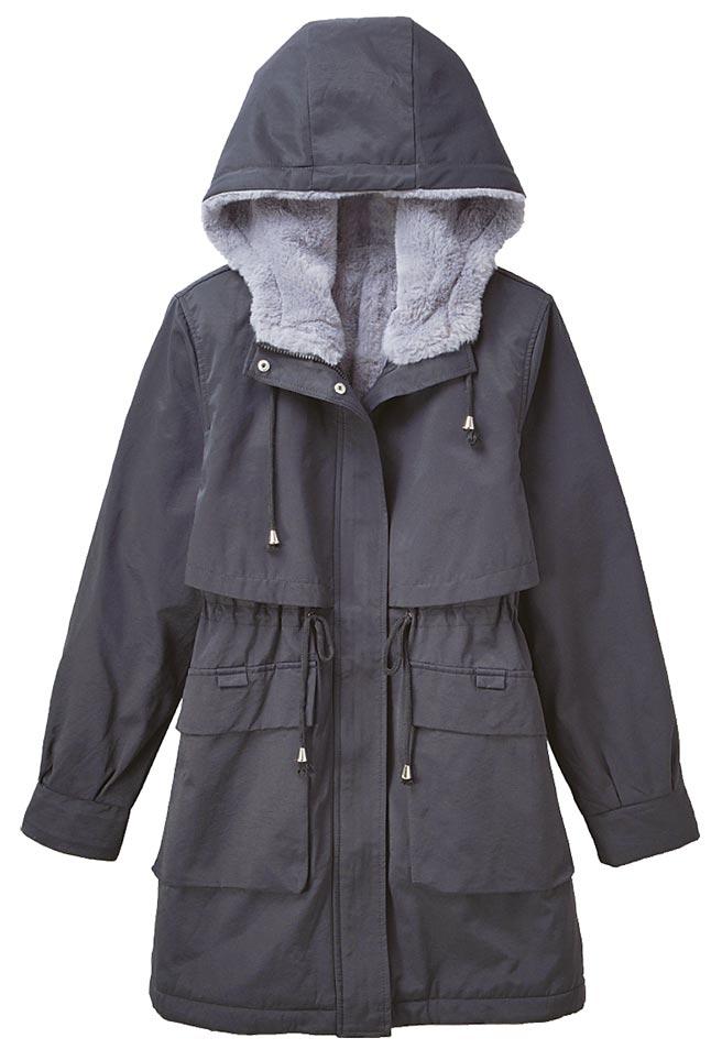 Global Mall新北中和店的POONE抽繩鋪棉外套,原價4980元,優惠價2300元。(Global Mall提供)