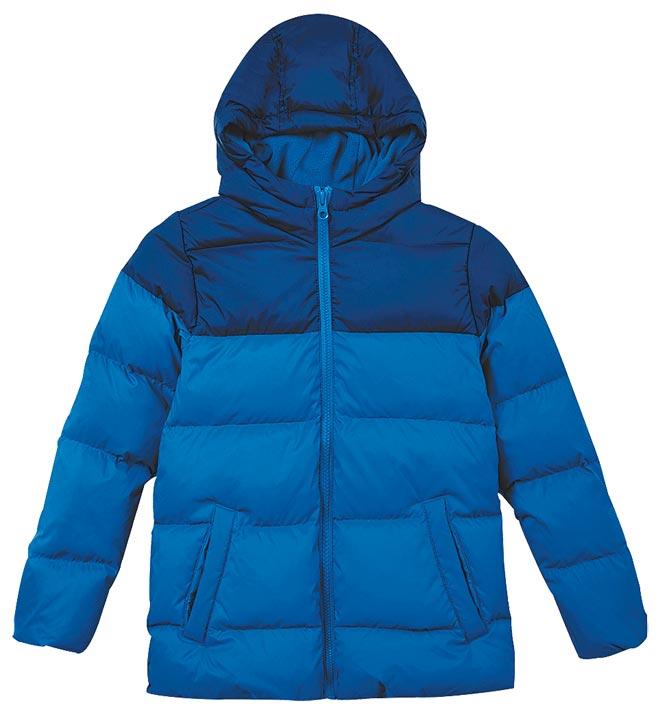 大葉高島屋的United Colors of Benetton童裝羽絨外套,原價4680元,特價2340元。(大葉高島屋提供)