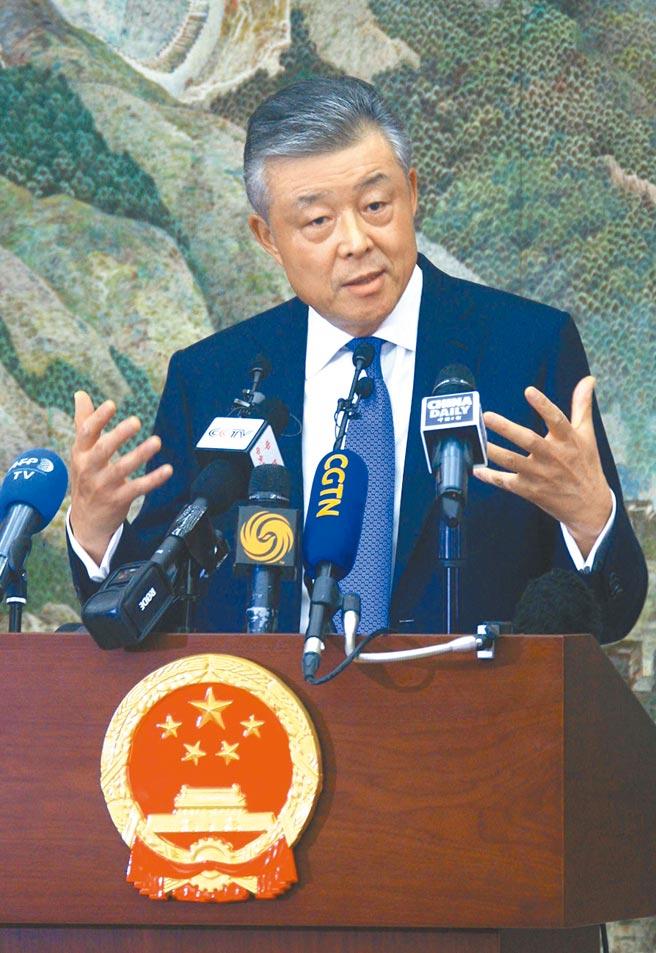 大陸駐英大使劉曉明(中新社資料照片)