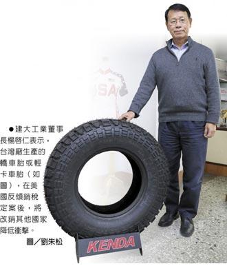 楊啟仁:建大銷美產能移至越南廠