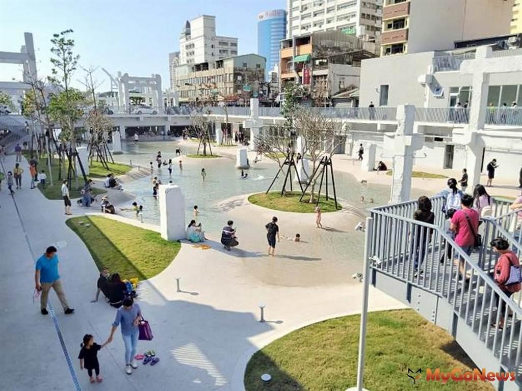 台南「河樂廣場」再度躍登國際媒體英國《衛報》 入選全球五大最佳建築(圖/台南市政府)