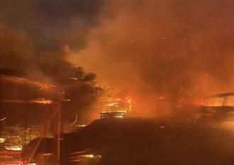 恆春五里亭山區蔓延大火 聯訓269旅官兵急通報協助救援