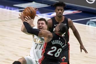 NBA》巴特勒復出超低迷 熱火遭獨行俠修理