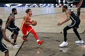 NBA》籃網怎麼了?自家主場竟輸老鷹18分