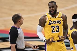 NBA》詹皇本季首次大三元 湖人艱辛拔馬刺
