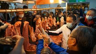 新北3828豬肉攤商 侯友宜:3個月內完成查核