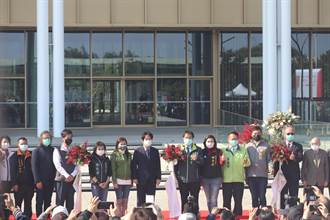 台南總圖盛大開幕 賴清德「回娘家」喊:未來要作世界的台南