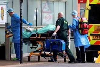 變種病毒發威 海嘯般病例暴增 倫敦醫院進入災難狀態