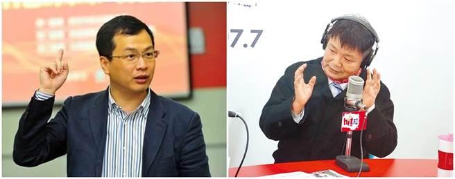 台北市議員羅智強(左圖)、退輔會副主委李文忠(右圖)。(本報系資料照片)
