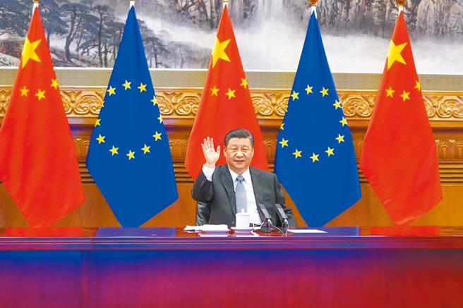 學者憂心,若歐盟增加買進大陸商品,恐怕對台灣同類商品的出口有排擠效應,進一步衝擊我出口能量。(新華社)