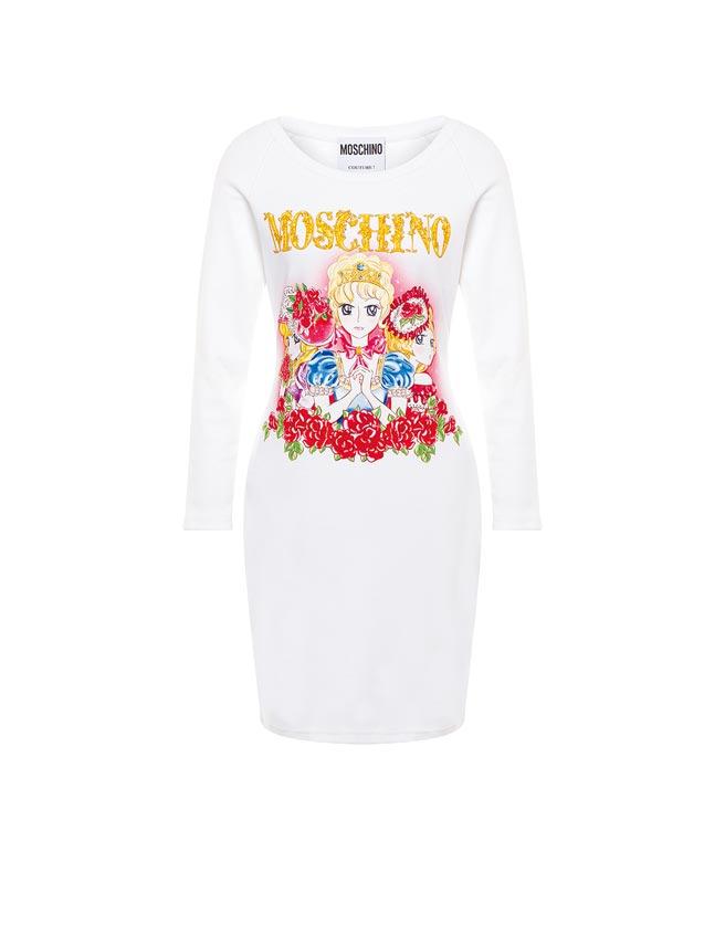 靠著裙撐變身宮廷風,這次Moschino的系列洋裝很有哏,3萬500元。(Moschino提供)