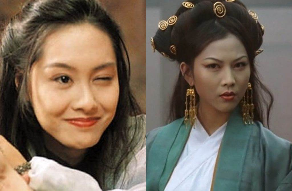 朱茵饰演的「紫霞仙子」和蔡少芬饰演的「铁扇公主」,至今仍为经典。(图/翻摄自东网)