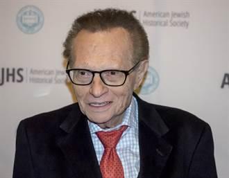87歲美傳奇脫口秀主持人賴瑞金染疫住院 狀況不佳