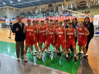 苗栗高商女籃隊HBL晉級8強 12球員獲保甄大學資格