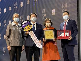 百川建設50周年慶 捐救護車做公益