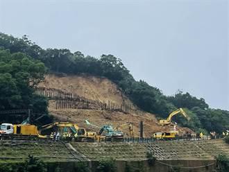 台鐵猴硐邊坡坍方 西正線目標2/8搶通