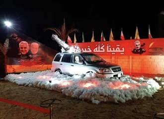 黎巴嫩樹立蘇萊曼尼紀念像 定格在遭轟炸的瞬間