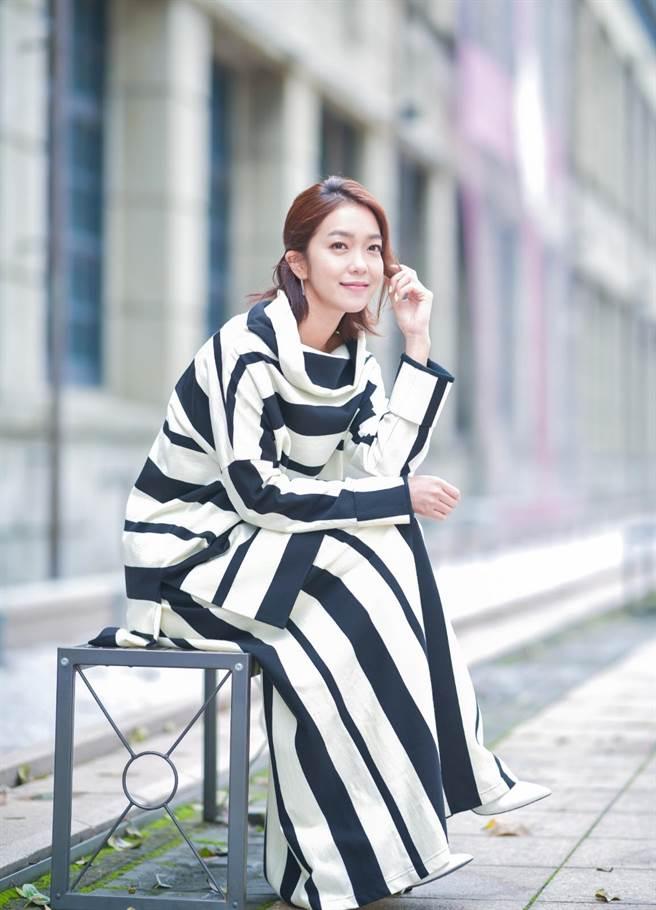 李霈瑜(大霈)出道多年跨足主持、戏剧、电影及音乐各领域。(卢祎祺摄)