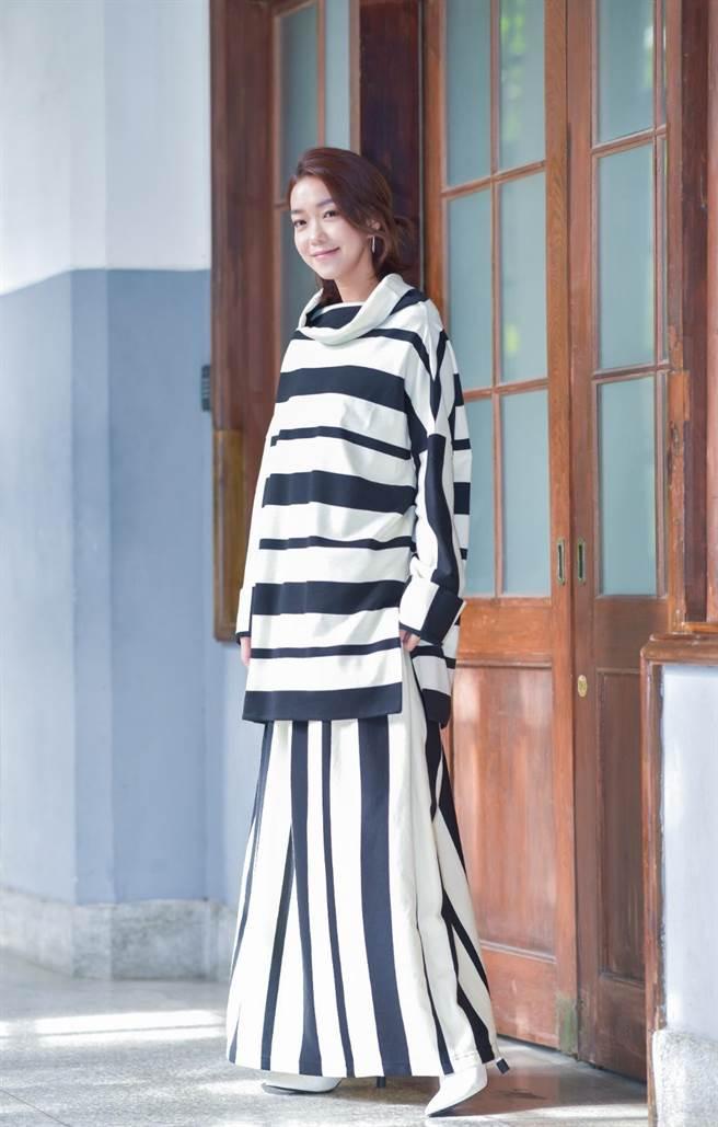 李霈瑜(大霈)在《大债时代》中饰演背房贷的小资女,是不少年轻世代的缩影。(卢祎祺摄)
