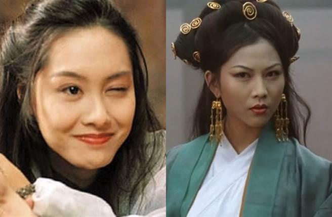 朱茵飾演的「紫霞仙子」和蔡少芬飾演的「鐵扇公主」,至今仍為經典。(圖/翻攝自東網)