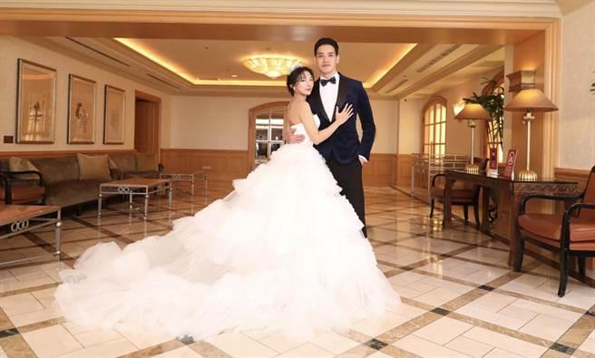 黃立3日辦婚宴迎娶老婆Addlyn Kim。(黃立提供)