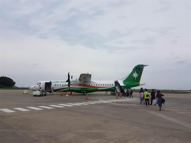 據南竿航空站統計,2020年載客量達37萬176人次,比2019年成長率19.02%。(葉書宏攝)