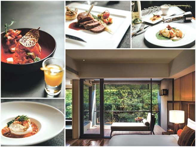 北投麗禧溫泉酒店推暖旅行一泊二食,除享受白磺溫泉與頂級服務,還可品嘗歐陸餐廳冬季新菜紐西蘭羊排或海魚明蝦套餐。圖/麗禧提供