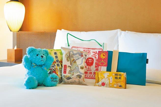 台南晶英酒店大年初一至初三推出新春住房專案,按房型贈送房客限量新春禮物。(台南晶英酒店提供)