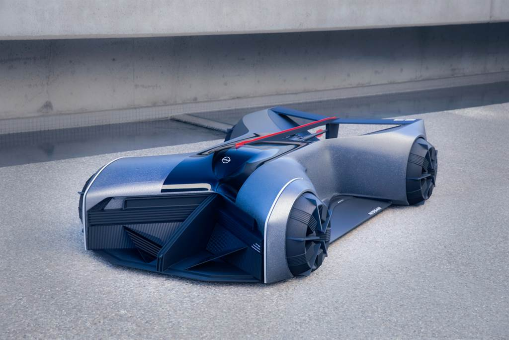 來自實習生的超未來作品!Nissan Design GT-R(X) 2050