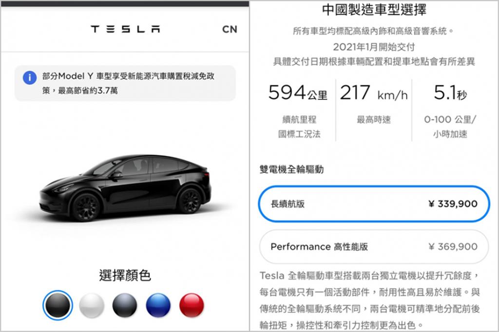 最低僅 147 萬元!Model Y 中國版價格超犀利,本月即將上市交車