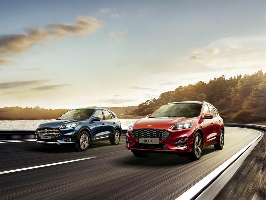 Ford Kuga在今年六月推出搭載C2平台之大改款車型,與Focus攜手成為福特六和兩大戰將,雙雙進入全年乘用車銷售前十名榜單中。