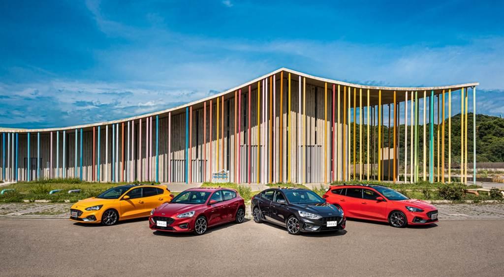 中型房車聲勢持續熱絡的Ford Focus,全車系車系在2020年總銷量達到13,946輛,年對年成長達到2成5。
