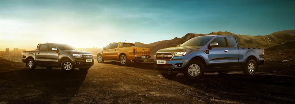 美式正宗皮卡New Ford Ranger銷售穩定增長,2020年12月市占超過38%,再登皮卡車型冠軍。