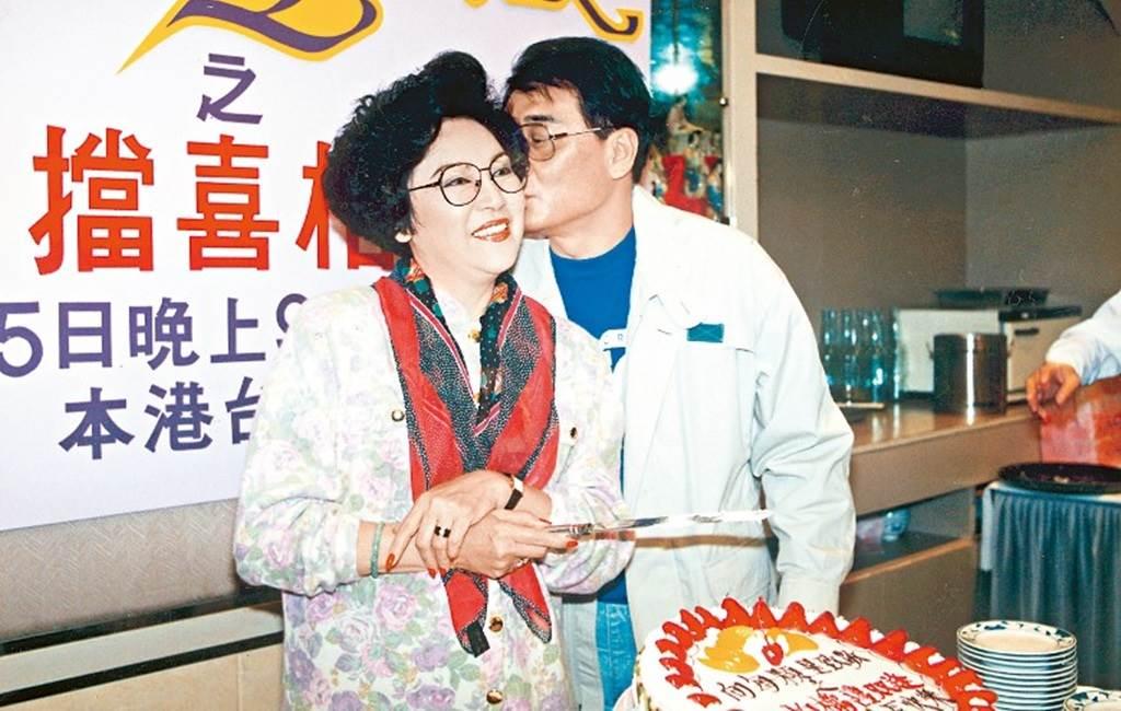 李香琴與搭檔譚炳文緋聞傳30幾年,兩人先後於半年內往生。(圖/翻攝東網)