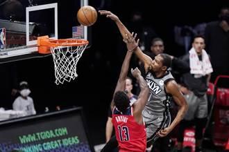 NBA》杜蘭特厄文搶當絕殺英雄失敗 籃網又輸了