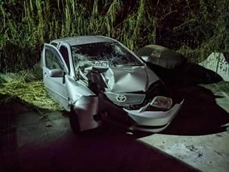 元旦台南自撞車禍釀3死 女送醫仍傷重不治