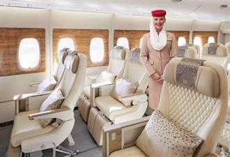 阿聯酋航空逆勢推A380客機新內裝 全面優化飛行體驗