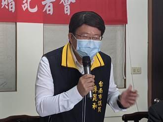 發心做公益 台南市議員陳昆和宣布薪水全捐