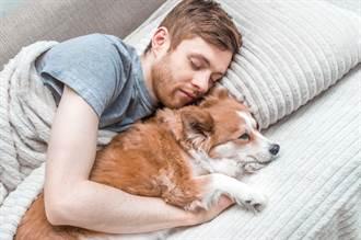養狗被說「只能睡樓下」 女見爸沙發陪睡揭催淚真相