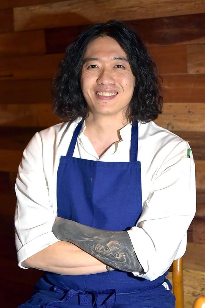 VG Taipei 行政主廚陳子洋延攬曾在歐洲多家米其林星級餐廳歷練的Eric于鼎加入團隊,一起為〈VG Encore〉設計菜餚。(圖/姚舜)